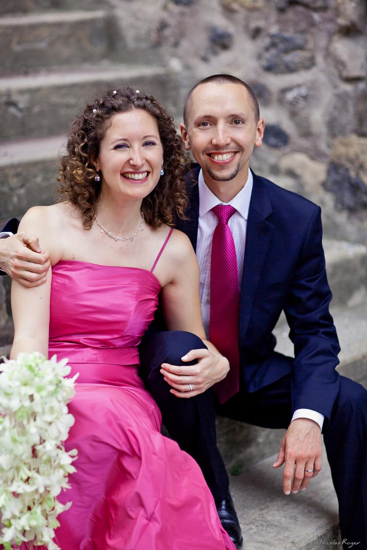 Des mariés colorés