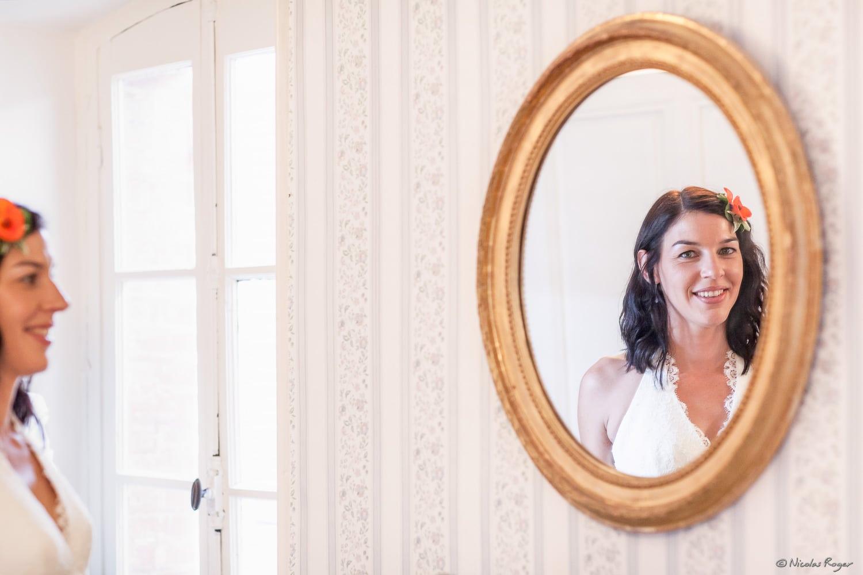 Reflet de la mariée