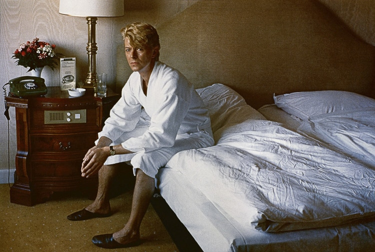 Photographie de l'artiste Helmut Newton