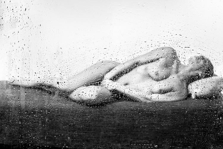 Photographie artistique de Nicolas Roger de sa nouvelle série : Pluie de printemps